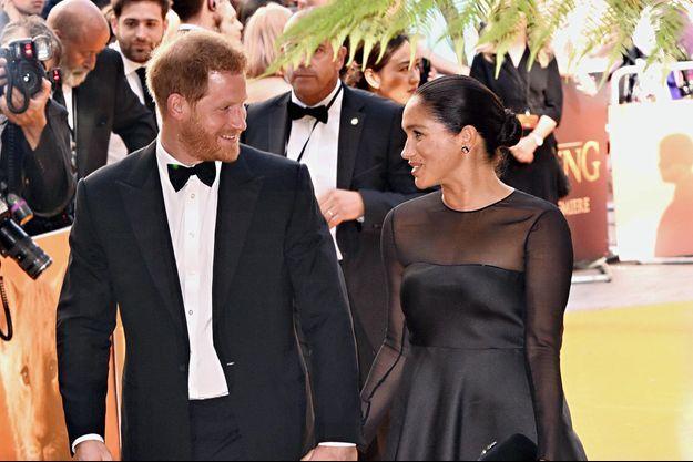 Meghan Markle et le prince Harry en juillet 2019 à Londres