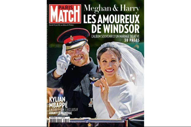 La couverture du nouveau numéro de Paris Match, en vente dès mardi dans les kiosques.