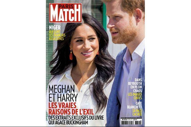 La couverture du numéro 3719 de Paris Match.
