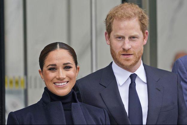 Meghan et Harry à New York le 23 septembre 2021