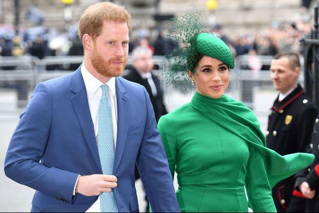 Harry et Meghan de Sussex