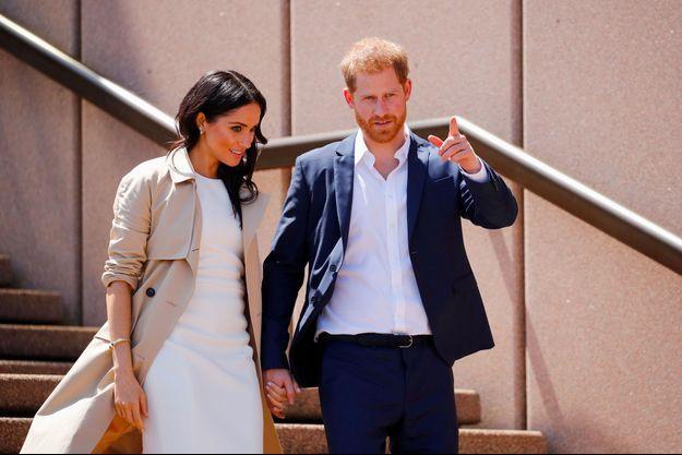 Meghan et Harry à Sydney, en Australie, le 16 octobre.