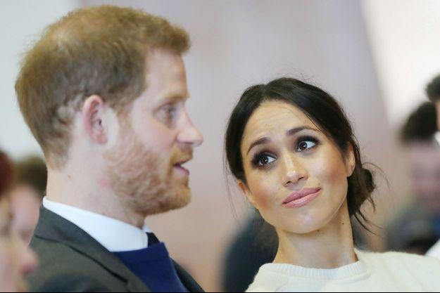 Le Prince Harry et Meghan Markle à Belfast le 23 mars 2018.