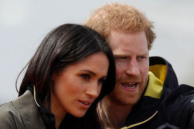 Le temps de la préparation… aux prochains Invictus Games. Le couple est allé encourager les équipes participant au tournoi créé par Harry, le 6 avril à Bath, en Angleterre.