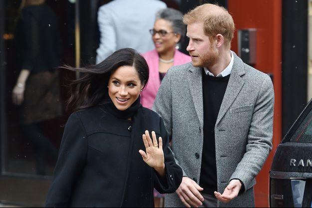 Meghan Markle et le prince Harry visitant le centre One25 le 1er février 2019