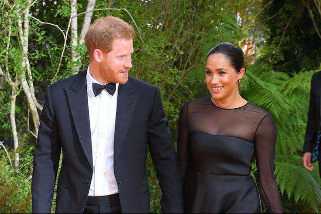 Meghan Markle et le prince Harry à Londres, le 14 juillet 2019