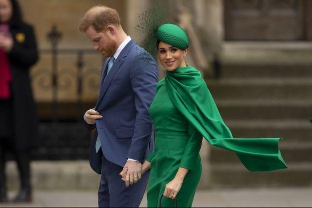 Harry et Meghan à Londres le 9 mars 2020