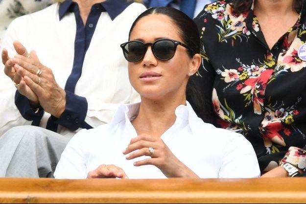 Meghan Markle à Wimbledon en juillet dernier.
