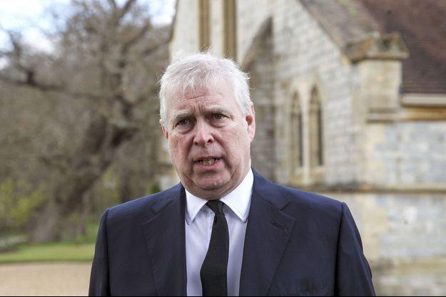 Le prince Andrew, le dimanche 11 avril à Windsor.