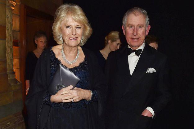 Le prince Charles et la duchesse de Cornouailles Camilla à Londres, le 2 février 2016
