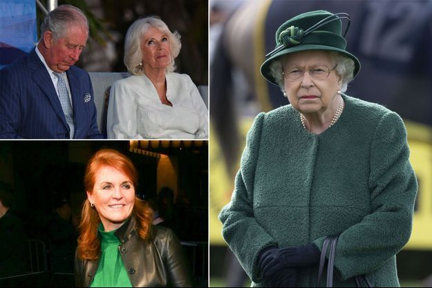Le prince Charles et la duchesse de Cornouailles Camilla, le 28 mars 2019 - Sarah Ferguson le 21 mars 2019 - La reine Elizabeth II le 13 avril 2019