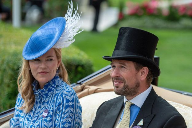 Peter et Autumn Phillips au Royal Ascot, le 20 juin 2018