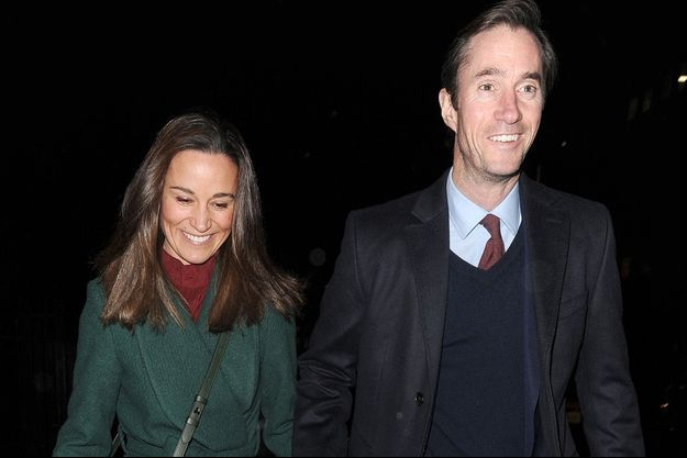 Pippa Middleton et James Matthews en décembre 2019