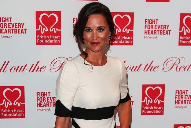 Pippa Middleton au Savoy à Londres pour le gala caritatif de la British Heart Foundation, le 11 février 2016