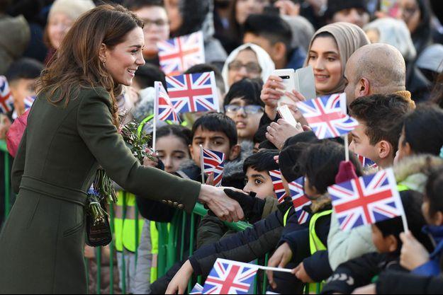 Kate Middleton en visite dans le Yorkshire en janvier 2020