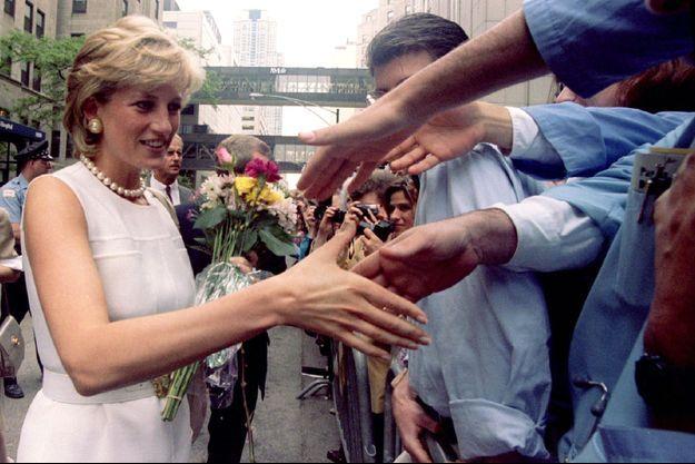 Lady Diana à Chicago, le 6 juin 1996