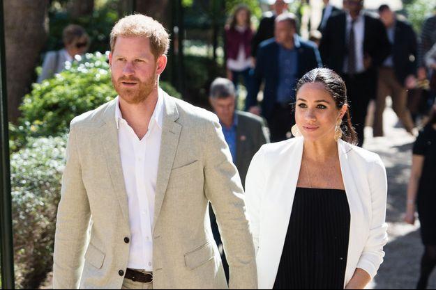 Meghan Markle et le prince Harry à Rabat, le 25 février 2019