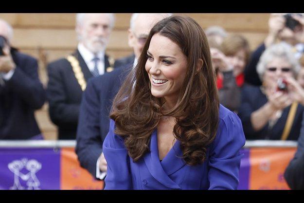 Kate Middleton a prononcé son premier discours officiel.