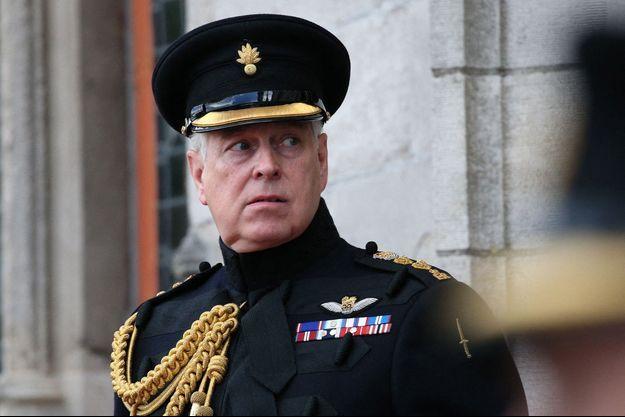 Le prince Andrew le 7 septembre 2019 à Bruges