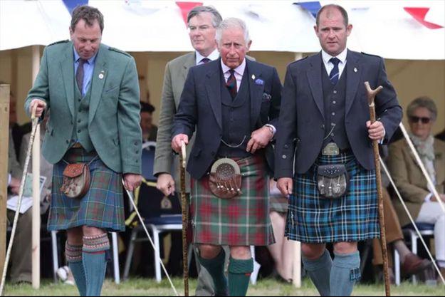 Le prince Charles en Ecosse