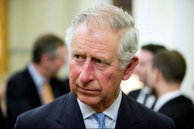 Le prince Charles, le 17 mars à Washington.
