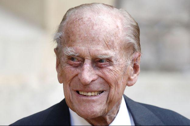 Le prince Philip au château de Windsor, le 23 juillet 2020
