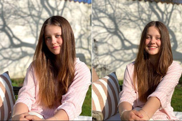Deux des trois portraits de la princesse Isabella de Danemark, révélés pour ses 14 ans le 21 avril 2021