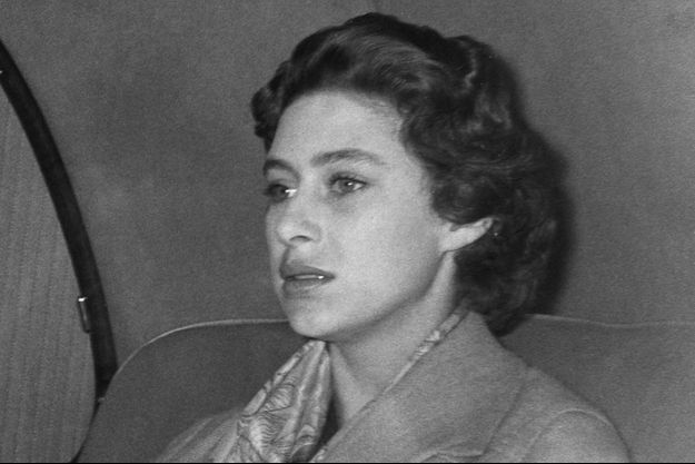 La princesse Margaret à Londres le 17 octobre 1955, après son dernier week-end avec Peter Townsend et peu de temps avant l'annonce de leur rupture