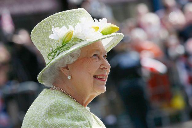 La reine Elizabeth II, le 21 avril 2016