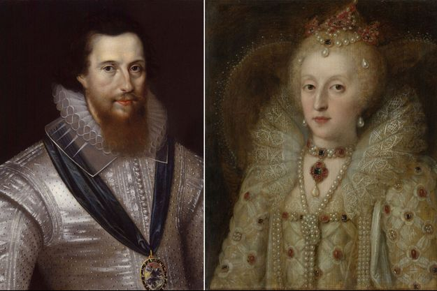 Robert Devereux, comte d'Essex par Marcus Gheeraerts Le Jeune (collection privée) – La reine Elizabeth I, anonyme