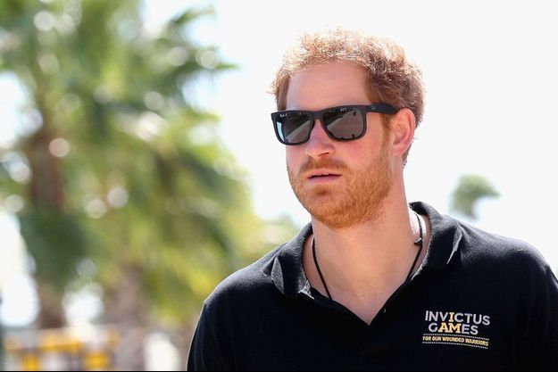 Le prince Harry vendredi à Orlando, avant les Invictus Games.