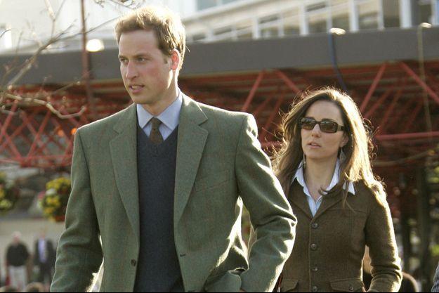 Le prince William et Kate Middleton au Cheltenham Festival en mars 2007, soit un mois avant leur rupture
