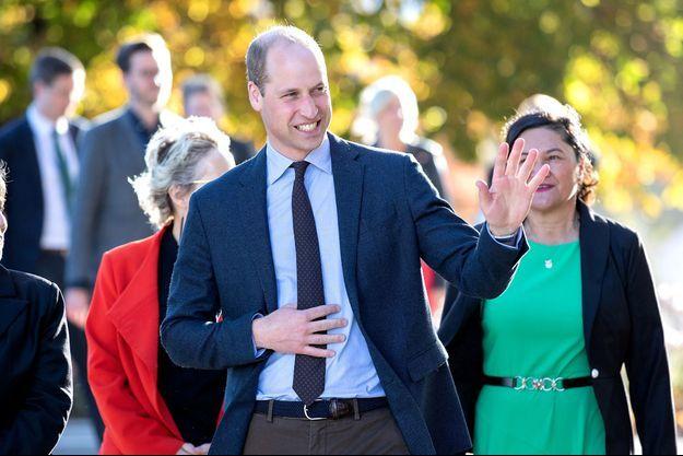 Le prince William en Nouvelle-Zélande, le 26 avril 2019