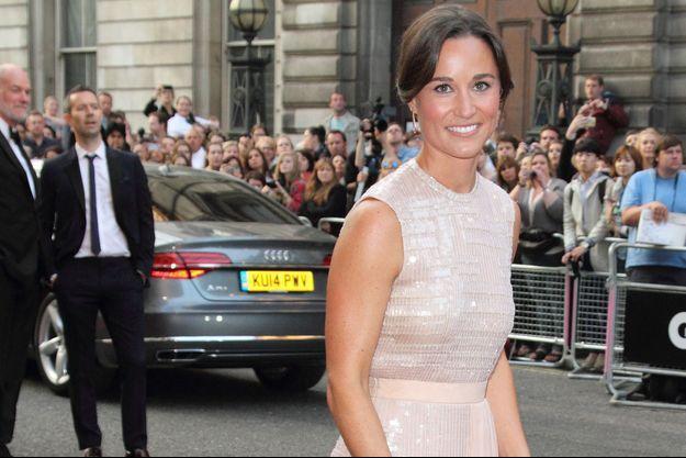 Pippa Middleton à Londres, le 2 septembre 2014