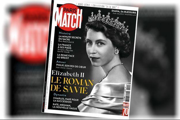 Notre hors-série « Elizabeth II, le roman de sa vie », 100 pages de photos et de reportages exclusifs consacrées à Sa Majesté, est en vente à partir du jeudi 16 octobre chez votre marchand de journaux...
