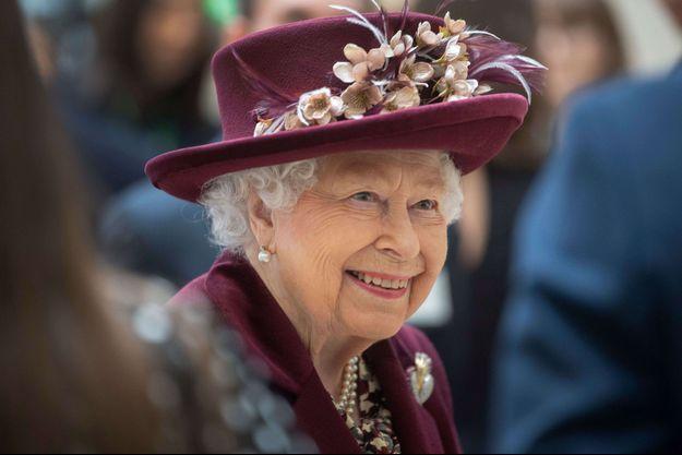 La reine Elizabeth II, le 25 février 2020