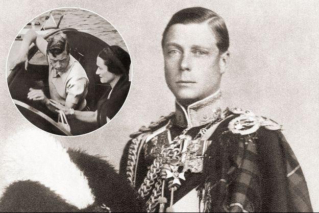 Le roi Edward VIII – En vignette: avec Wallis Simpson sur la Méditerranée, en 1936