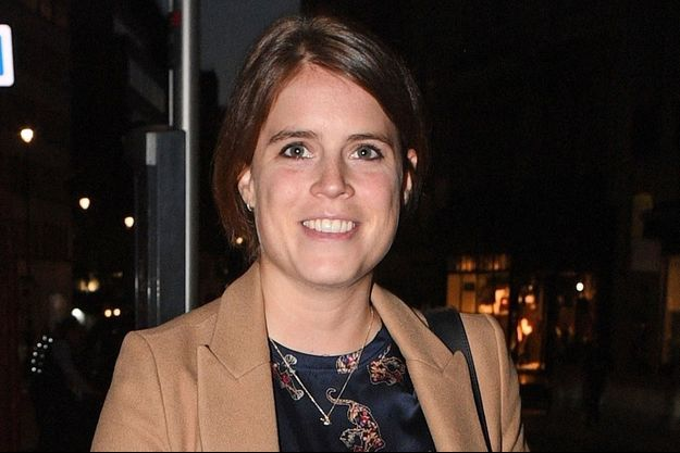 La princesse Eugenie d'York, le 8 octobre 2019