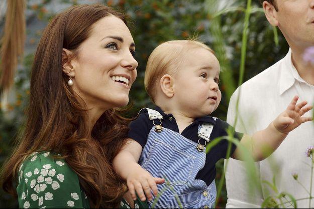 Kate et Baby George