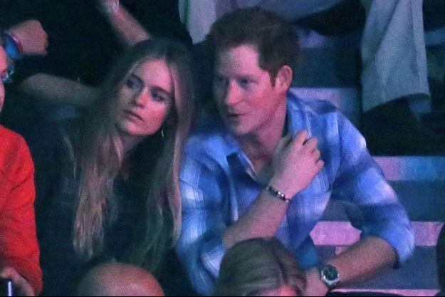 Harry et Cressida en mars dernier à Wembley