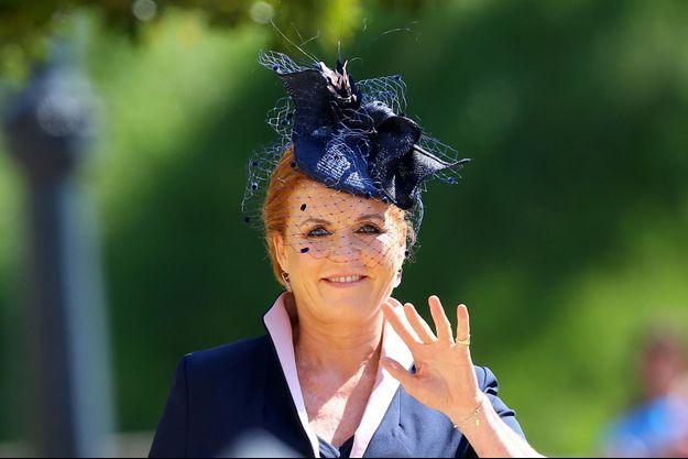 Sarah Ferguson, duchesse d'York, le 19 mai 2018