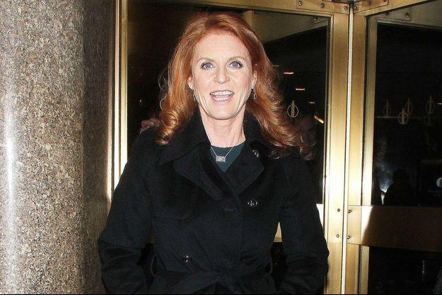 """Sarah Ferguson à New York pour """"The Today Show"""", le 13 janvier 2015"""