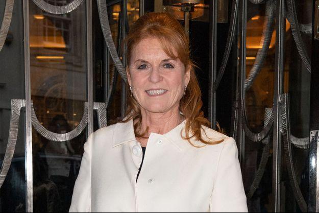 Sarah Ferguson, le 10 octobre 2019