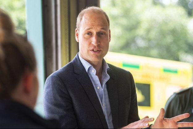 Le prince William lors d'un engagement en juin 2020