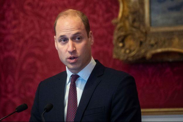Le prince William le 21 janvier 2020.