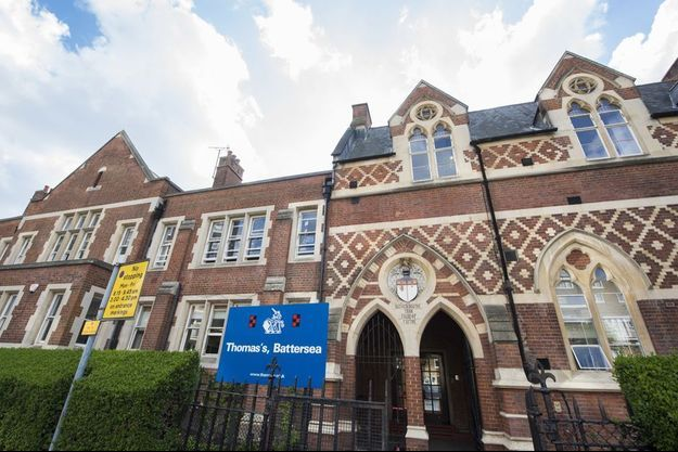 La Thomas's Battersea School de Londres, en mars 2017.