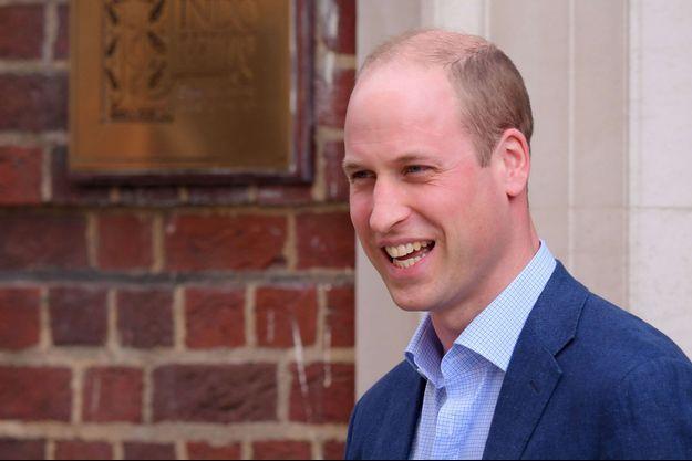 Le prince William à Londres, le 23 avril 2018