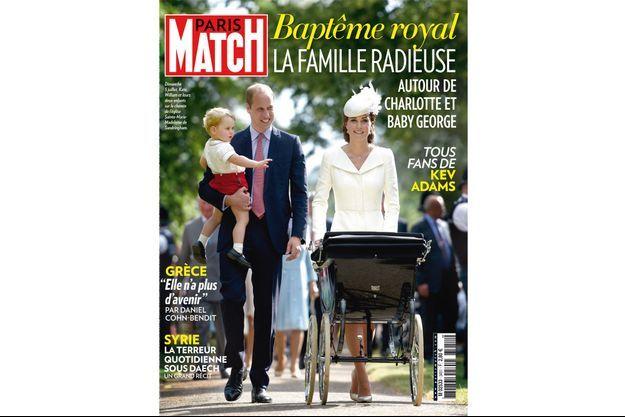 Cette semaine dans Paris Match.