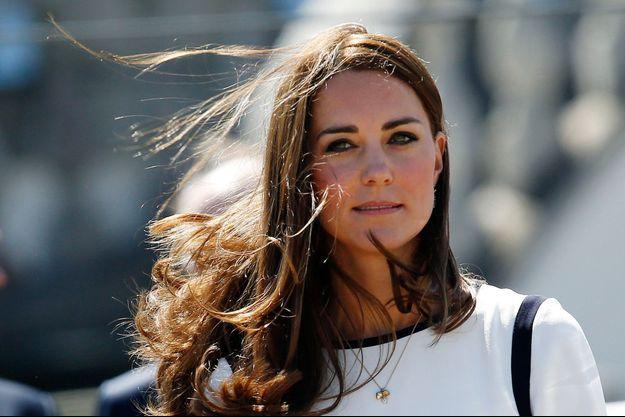 La duchesse de Cambridge Kate, lors du lancement de l'équipe britannique pour la Coupe de l'America, le 10 juin dernier.