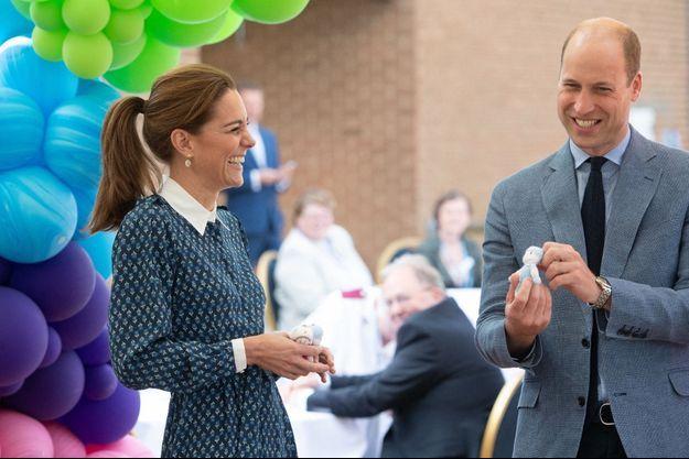 Kate Middleton et le prince William en juillet 2020.